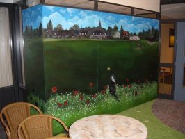 Panoramic Mural Painting Part 4 by Rpriet1