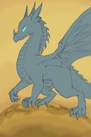 Gale Wing-unfinished by Winged-Dragoness