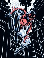 Spiderman 2099 by jasonbaroody