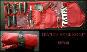 Leather Working Kit by Magpieb0nes