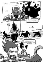 vegeta comic 04 by timpu
