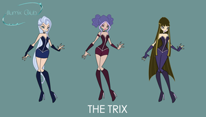 Illumix-Club Concept Art #1 : The Trix's Daughters by Akatoh