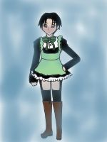 Maid!Levi by Ai-chanThePandaLvr14