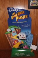 Brave Little Toaster Promotional Display by MadForHatters