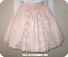 Heart pockets lolita skirt by The-Cute-Storm
