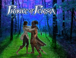 Prince of Persia Embrace by spacelion88