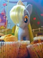 Derpy, The Muffin Queen by Kiddysa-NekoVamp