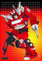 Transformers G1 Inferno by Doton-Element