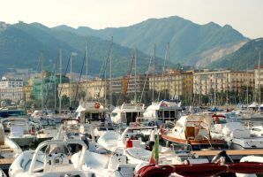 Salerno Boat Port by JessChateauneuf