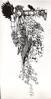 hung scarecrow by Bowielover by OriginalDark