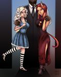 Daddy and His Girls by LordNobleheart