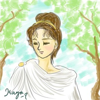 Ancient Roman Lady by maya-7