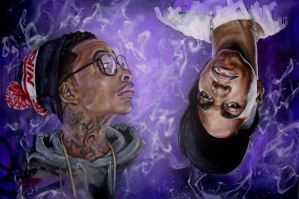 Wiz Khalifa x CurrenSy by JackLabArt
