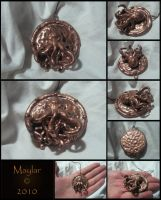 Cthulhu Medallion by Maylar