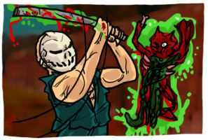 Splatterhouse Part 2 by theEyZmaster