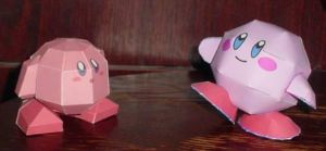 Kirby and kirby by paperart