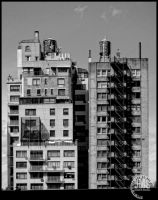 Dwelling Towers by steeber