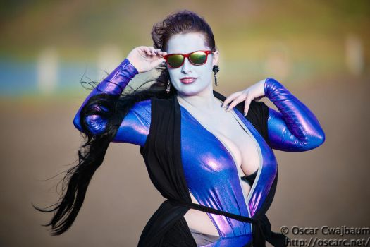 Widowmaker at the beach by OscarC-Photography