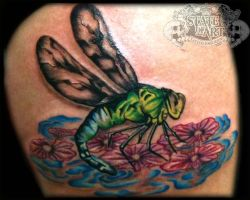 Dragonfly by state-of-art-tattoo