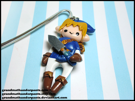 Blue Link Bookmark by GrandmaThunderpants