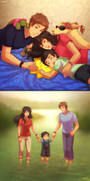 +LH: Family AU+ by kuraudia