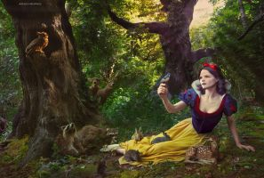 Ginnifer Goodwin as Snow White by Soph-LW