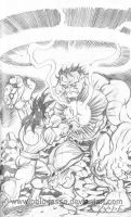 Hulk Vs Goku by POLO-JASSO