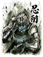 Dead Space Sumie Style by MyCKs