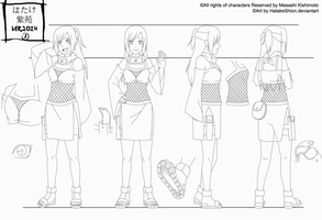 Reference Outfit _Shion_13-14 years by HatakeShion