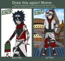 Draw this again 2010 - 2014 by DaGreatVincE