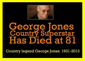 George Jones Country superstar Has Died at 81 by EspioArtworks
