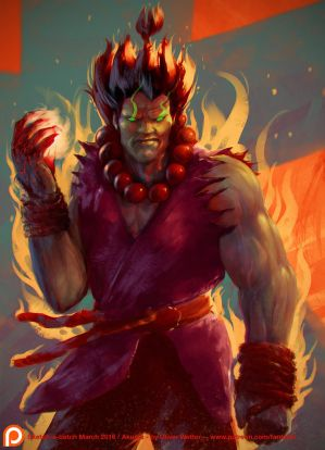 Akuma Sketch-a-batch-result by fantasio