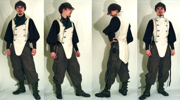 Journeymans Vest - Finished by Marcusstratus