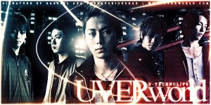 UVERworld Sig by TheNotoriousGAB