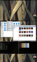 Archlinux with KDE 3 by printesoi