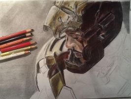 Ironman Tony Stark drawing WIP 2 by MelieseReidMusic
