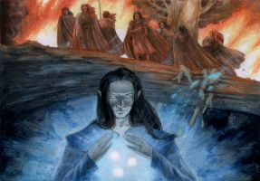 Feanor and his sons by aegeri