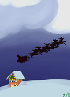 Christmas Card by Schakerin