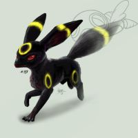 Umbreon:. by Nanasschevelu