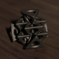 wings 3D tetrahedron by Lord-Of-Ice