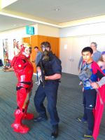 NF Comicon : Me, IronWomen, Thor by TheWarRises