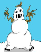 The Abominable Snowman by quentinlars