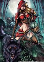 Red Riding Hood by diabolumberto