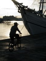 Harbour Cycling by fuckharee07