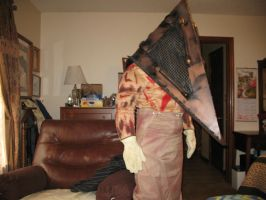 Silent Hill (Film) Pyramid Head costume revisions by TheDarkAssassin444
