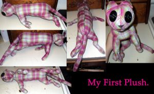 My First Plush. by KatWithKnives