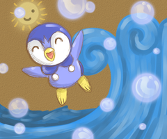 PIPLUP by my-darkness