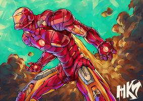 Iron Man by 56219920