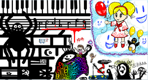 iScribble- Group Pic by Dizzie-Dog