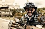 Steampunk Sheriff of Tagra by andresfcp